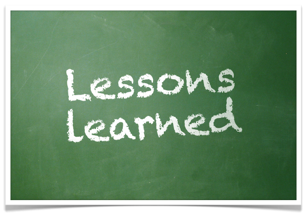 Lessons Learned for Project Managers