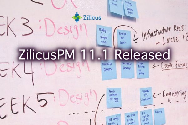 Project Management Software ZilicusPM 11.1 Released
