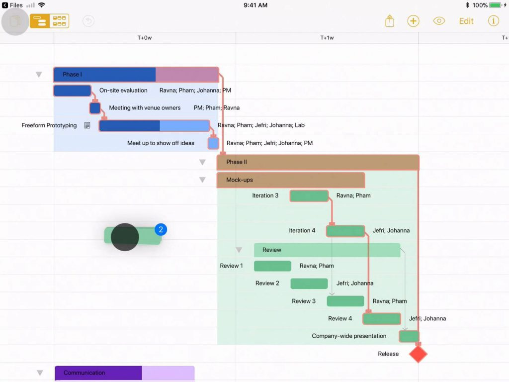 OmniPlan - Project Scheduling Software for Mac