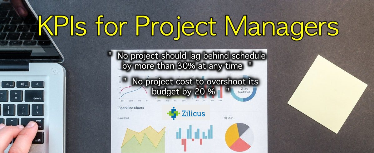 70 Kpis For Project Manager To Track Project Ultimate Kpi List Zilicus Blog Project Management Software