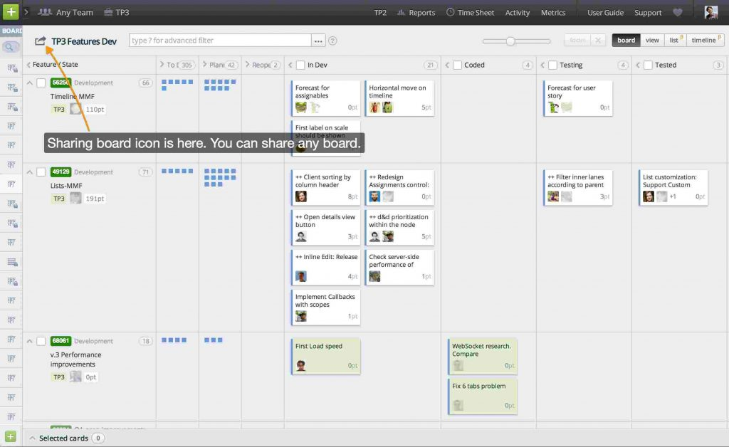TargeProcess - Agile Project Portfolio Management Software Tool