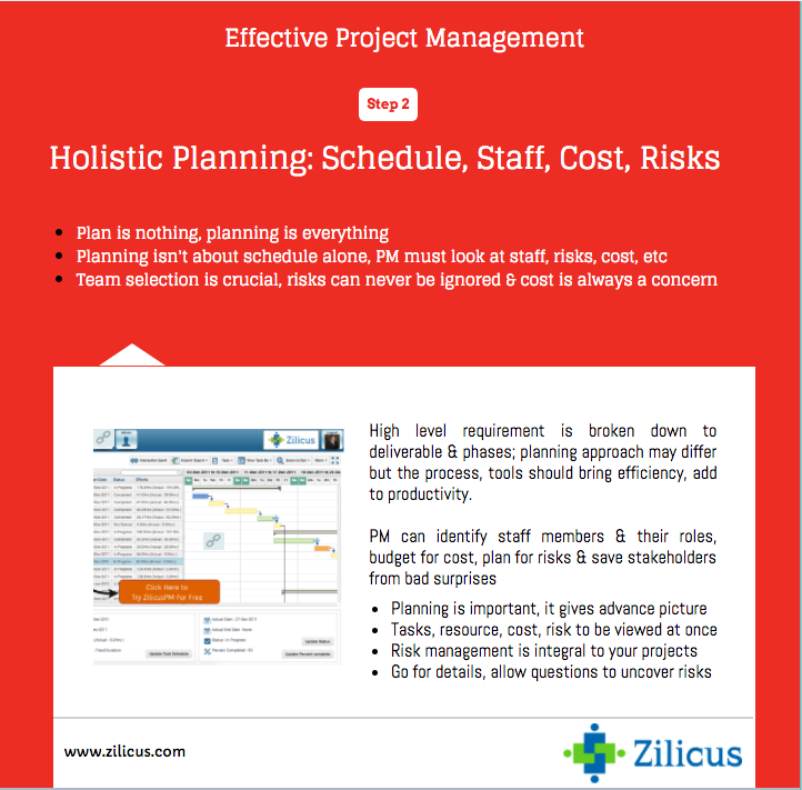 Effective Project Management - Integrated & Detailed Planning