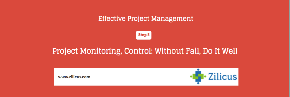 Tips for Effective Project Management - Monitoring & Controlling Projects
