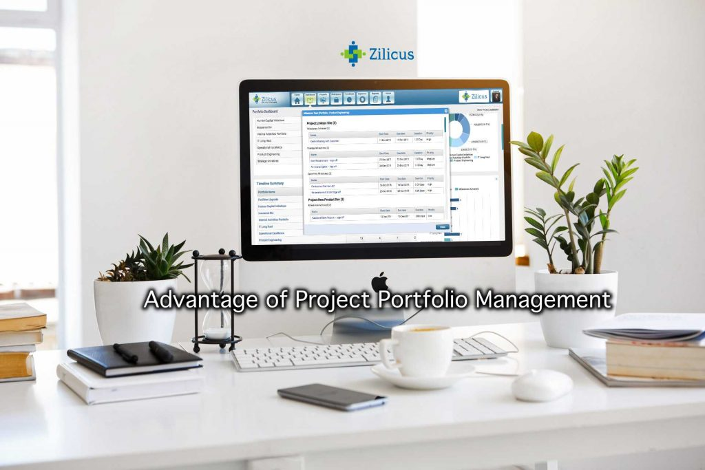 Advantage of Project Portfolio Management