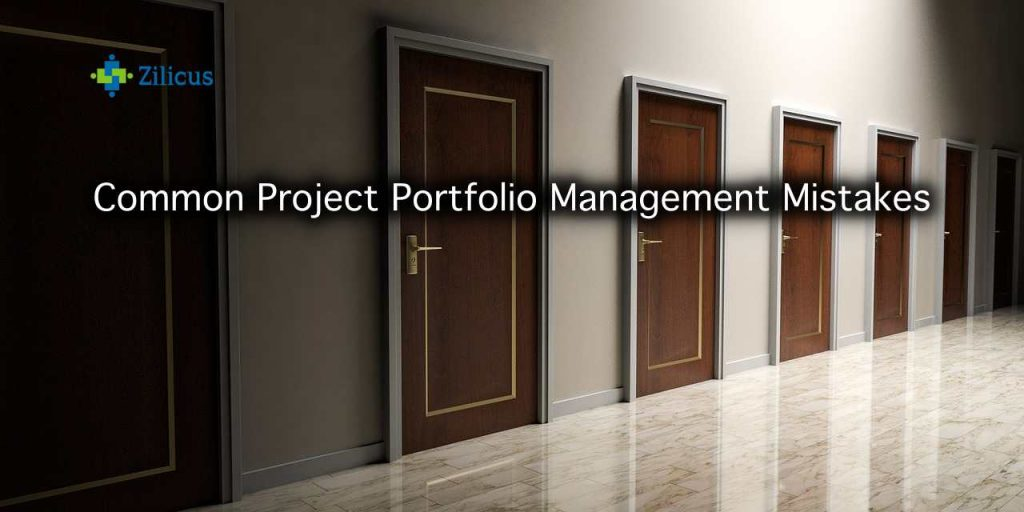 Common Project Portfolio Management Mistakes